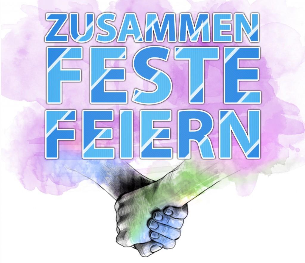 """""""Zusammen-Feste-feiern"""" die Halloweenparty"""