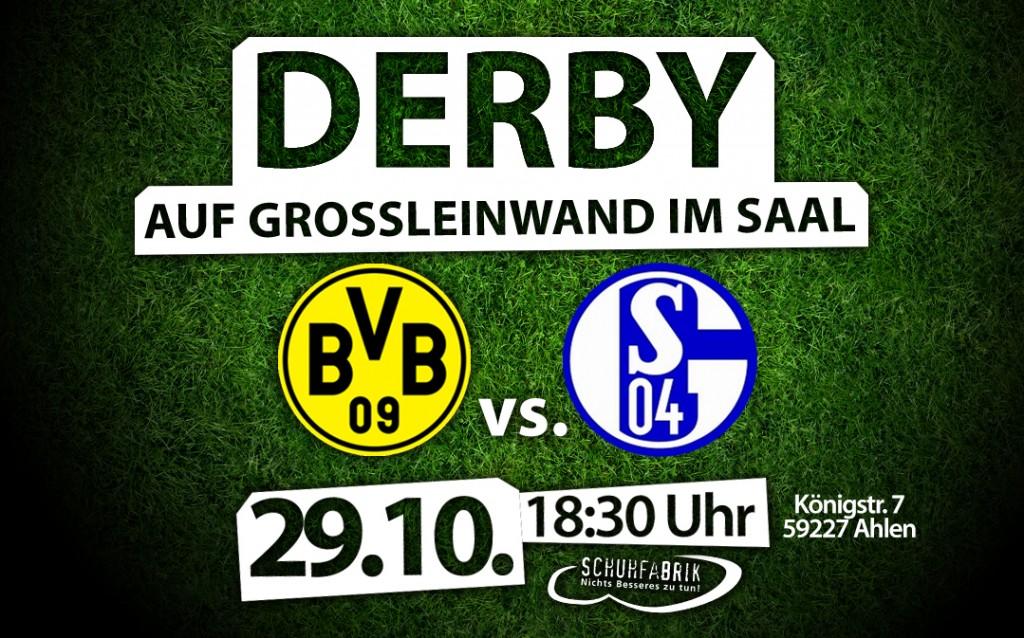 BVB – Schalke 04 auf Großleinwand