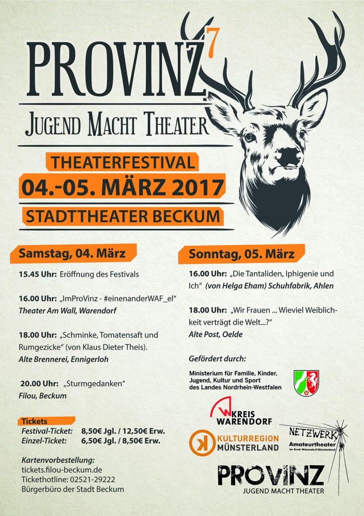 Provinz Theaterfestival im Stadttheater Beckum – Jugend macht Theater