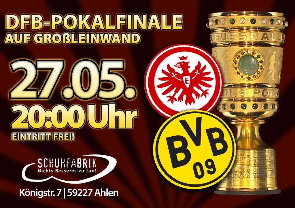 DFB Finale auf Großleinwand