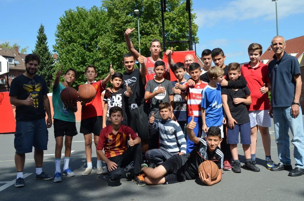Outdoor-Sports präsentiert: Streetbasketball
