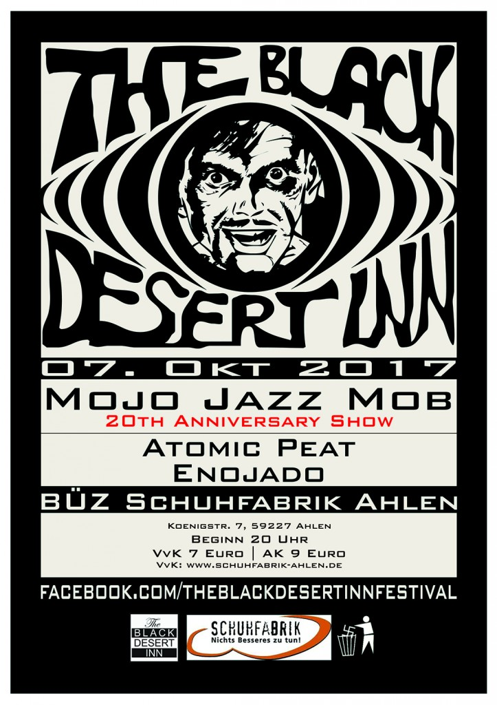 Mojo Jazz Mob (20 years), Enojado, Atomic Peat