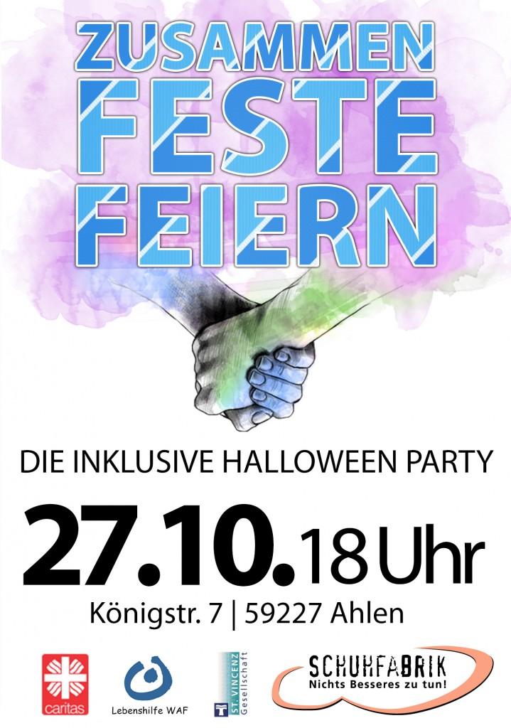 """""""Zusammen – Feste – Feiern"""" feiert 2. Halloween-Party"""