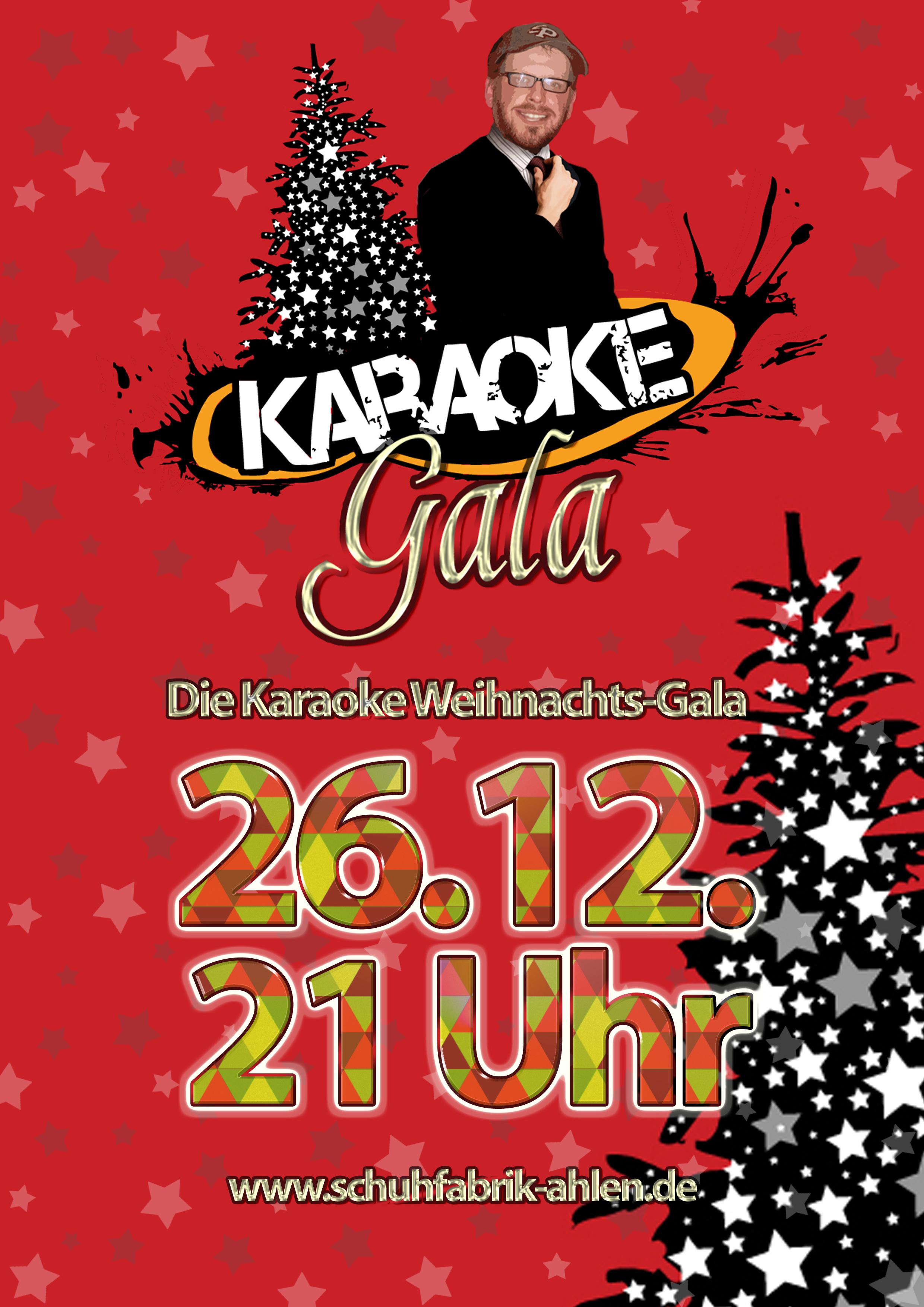 Karaoke Weihnachtsgala zum Mitsingen! | Schuhfabrik Ahlen