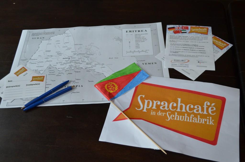 Tigrinya (Eritrea/Äthiopien) im Sprachcafe