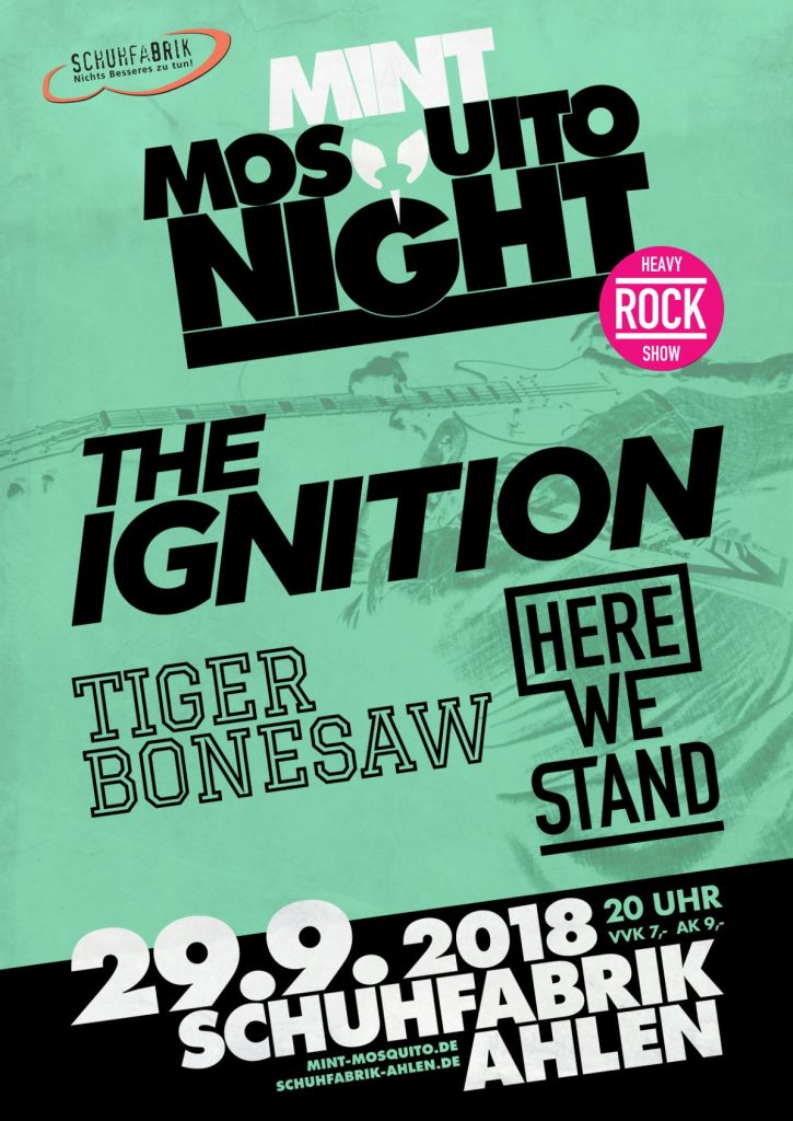 The Ignition, Here We Stand & Tiger Bonesaw