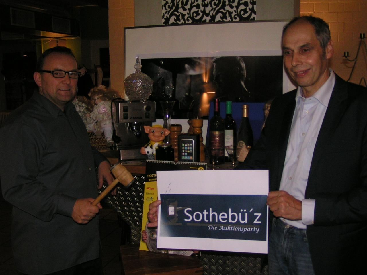 SotheBÜZ – die Auktionsparty!