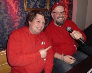 Karaoke mit den Höcklemännern!