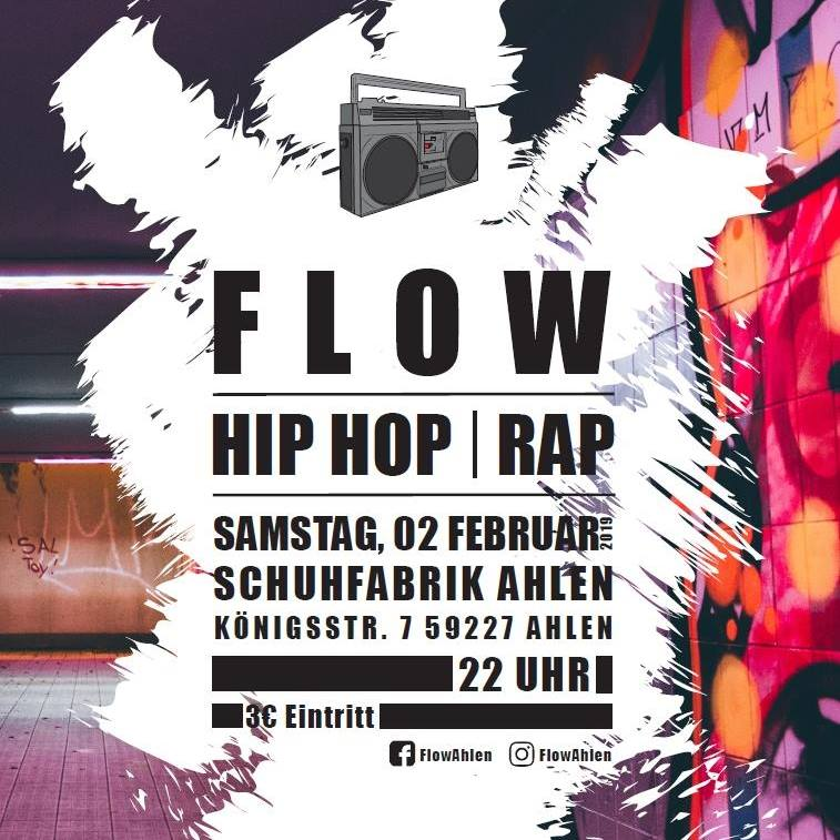 Flow – HipHop Party – neues Format!