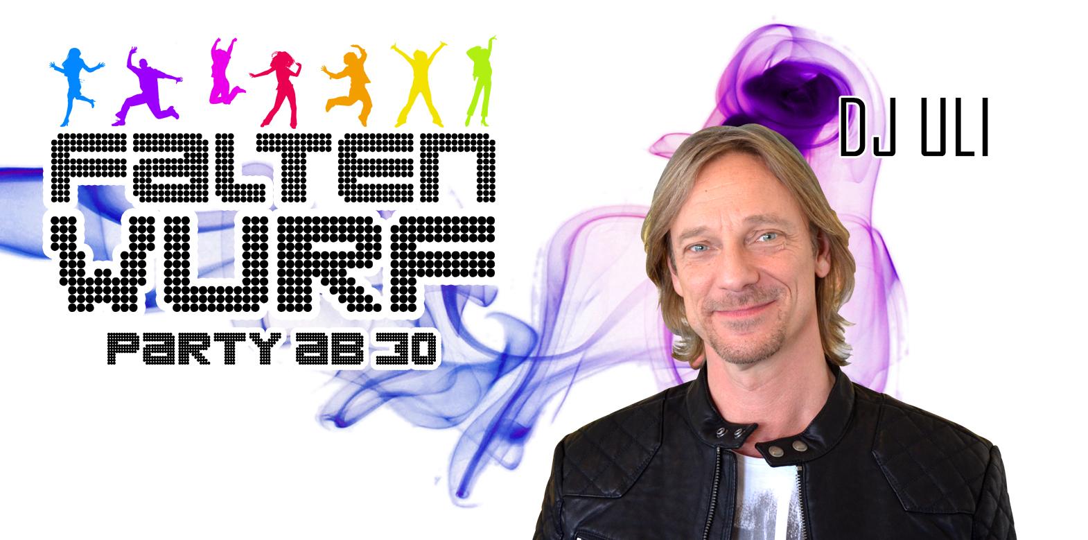Faltenwurf Party mit DJ Uli!