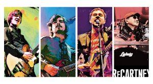 ReCartney bringen die Songs der Beatles & Paul McCartney in die Schuhfabrik!