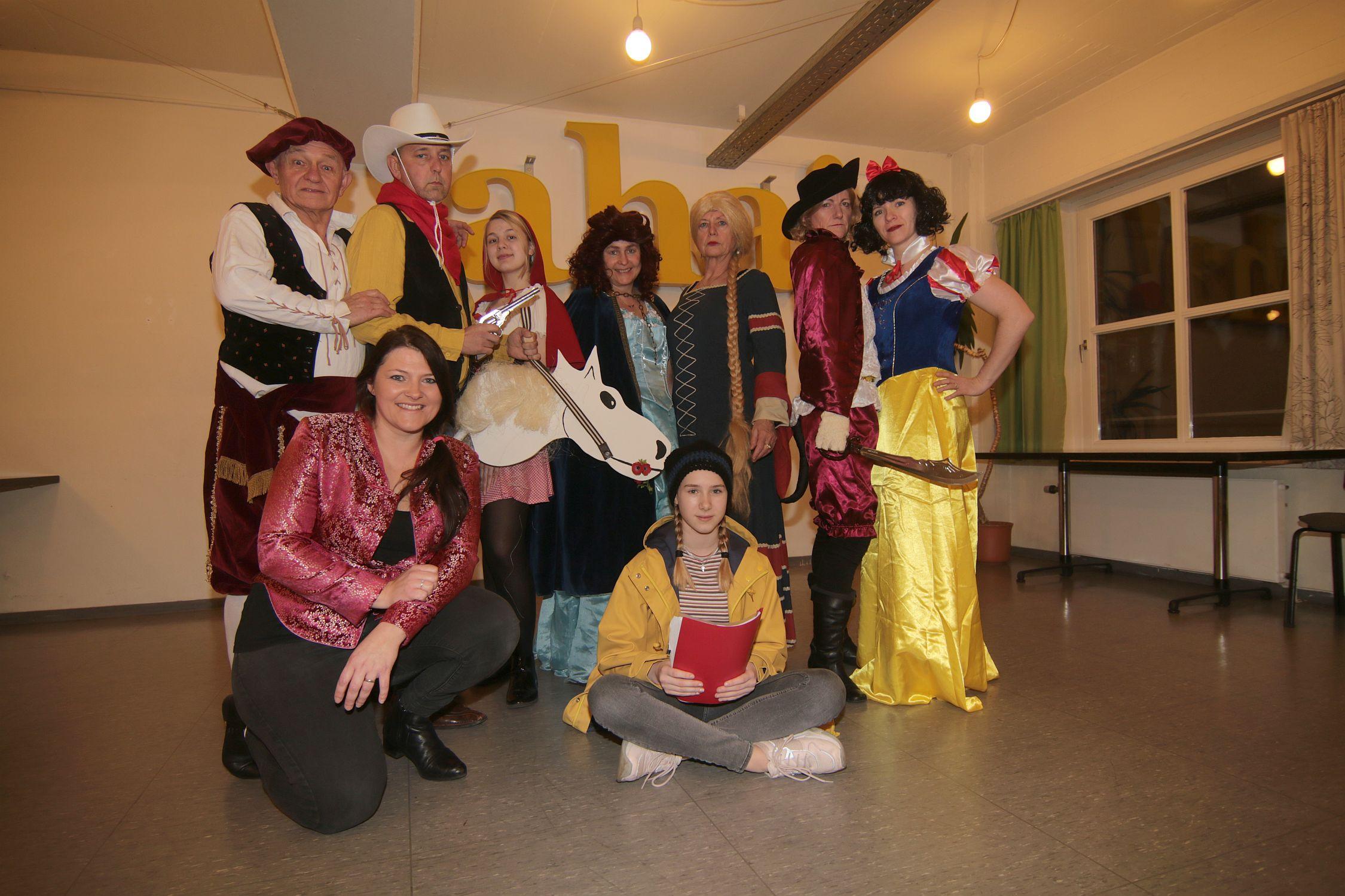 """St. Ludgeri Theatergruppe präsentiert """"Märchen außer Rand und Band""""! Donnerstag Premiere!"""