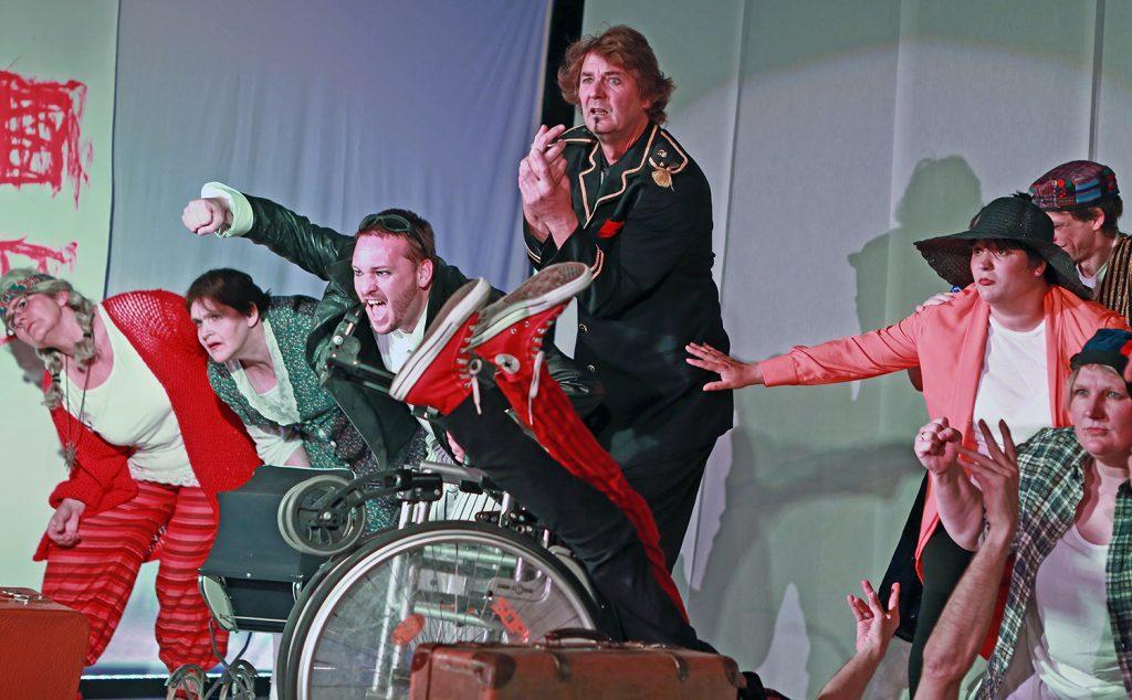 """Abgesagt: Theater Götterspeise """"Unter Strom"""""""